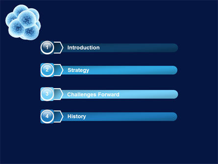 Cell Division PowerPoint Template, Slide 3, 05948, Medical — PoweredTemplate.com