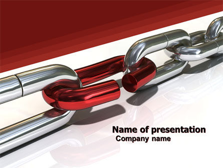 Consulting: Weak Link PowerPoint Template #05949