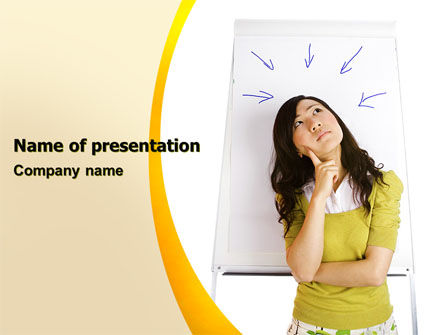 Inspiration PowerPoint Template, 05950, Education & Training — PoweredTemplate.com