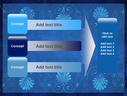 Indigo Theme PowerPoint Template Slide 12