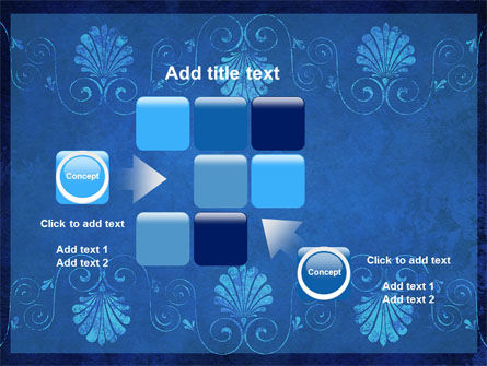 Indigo Theme PowerPoint Template Slide 16