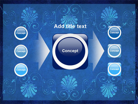 Indigo Theme PowerPoint Template Slide 17