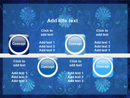Indigo Theme PowerPoint Template Slide 19
