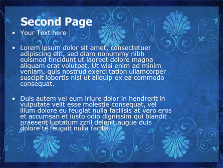 Indigo Theme PowerPoint Template Slide 2