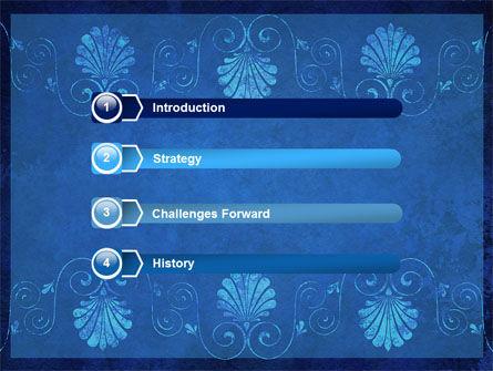Indigo Theme PowerPoint Template Slide 3
