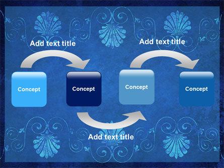 Indigo Theme PowerPoint Template Slide 4