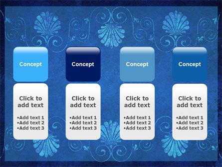 Indigo Theme PowerPoint Template Slide 5