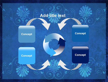 Indigo Theme PowerPoint Template Slide 6