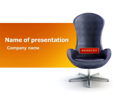 Chairman PowerPoint Template