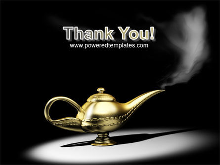 Aladdin's Magic Lamp PowerPoint Template Slide 20