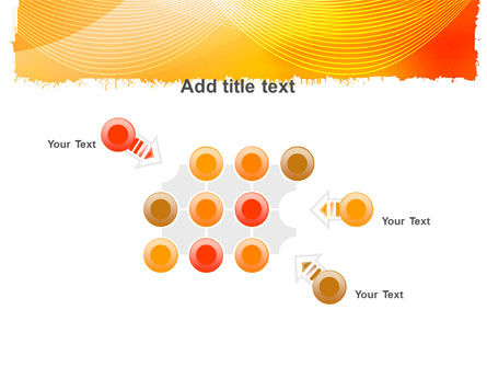 Orange Art Design PowerPoint Template Slide 10