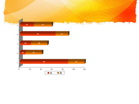 Orange Art Design PowerPoint Template Slide 11