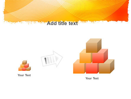 Orange Art Design PowerPoint Template Slide 13