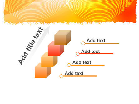 Orange Art Design PowerPoint Template Slide 14