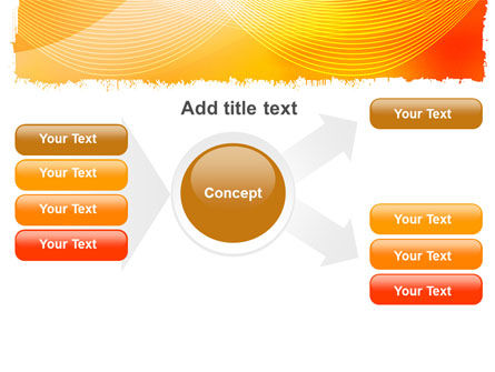 Orange Art Design PowerPoint Template Slide 15