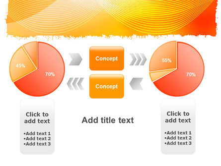 Orange Art Design PowerPoint Template Slide 16
