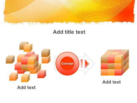 Orange Art Design PowerPoint Template Slide 17