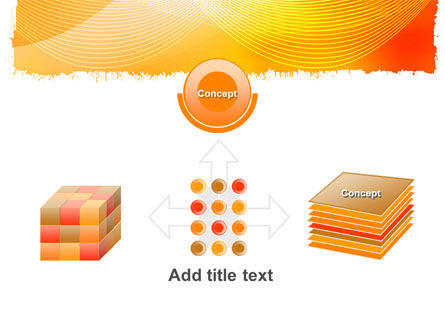 Orange Art Design PowerPoint Template Slide 19
