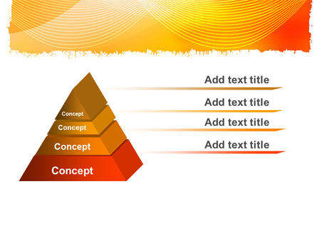 Orange Art Design PowerPoint Template Slide 4