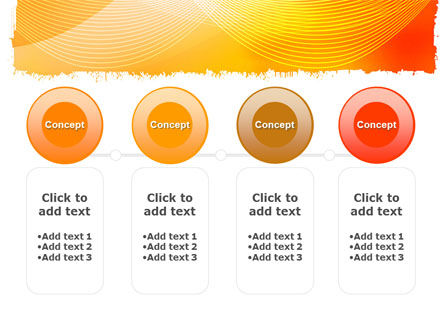Orange Art Design PowerPoint Template Slide 5
