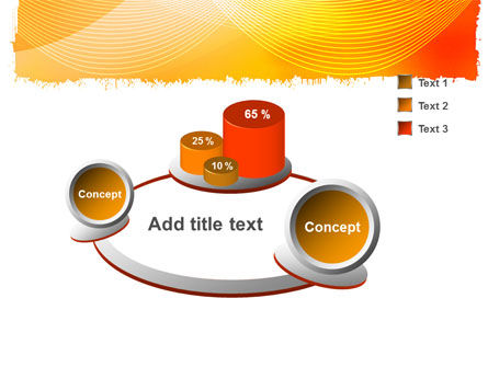 Orange Art Design PowerPoint Template Slide 6