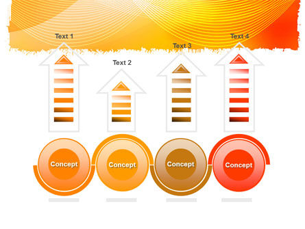 Orange Art Design PowerPoint Template Slide 7