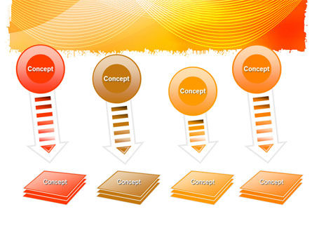 Orange Art Design PowerPoint Template Slide 8