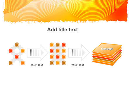 Orange Art Design PowerPoint Template Slide 9