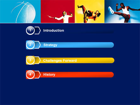summer sport powerpoint template, backgrounds | 05959, Powerpoint templates