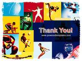 Summer Sport PowerPoint Template#20