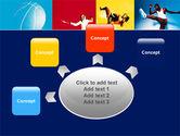 Summer Sport PowerPoint Template#7