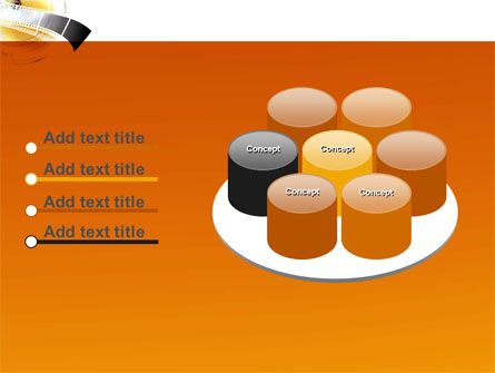 Movie Film PowerPoint Template Slide 12