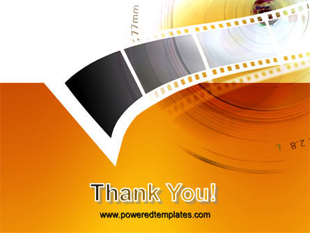 Movie Film PowerPoint Template Slide 20