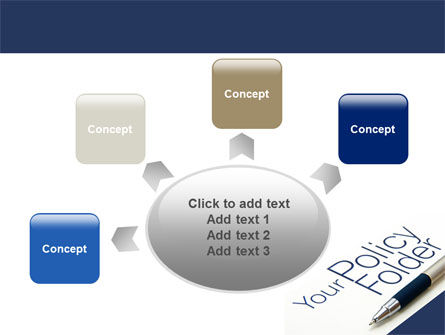 Policy Folder PowerPoint Template Slide 7