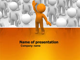 Education & Training: Victor PowerPoint Template #05968