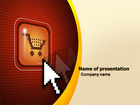 Careers/Industry: E-Commerce PowerPoint Template #05969