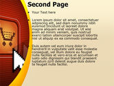 E-Commerce PowerPoint Template#2