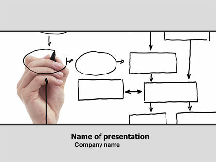 Database Architecture PowerPoint Template, 05972, Technology and Science — PoweredTemplate.com