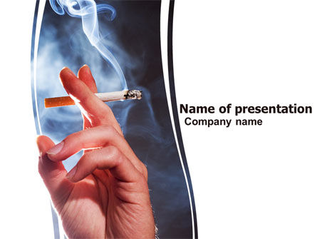 Quitting Smoking PowerPoint Template