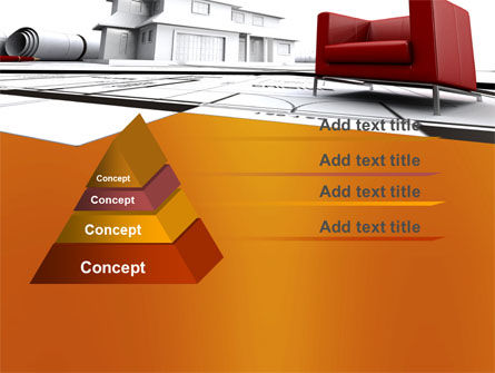 Visualization Of House Draft Free PowerPoint Template Slide 4