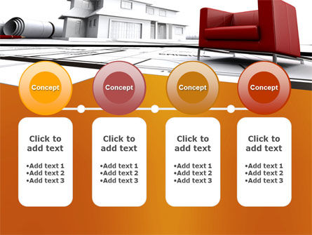Visualization Of House Draft Free PowerPoint Template Slide 5