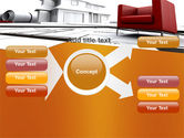 Visualization Of House Draft Free PowerPoint Template#15