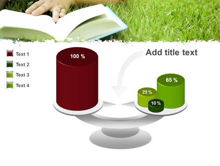 Reading On Summer Vacations PowerPoint Template Slide 10