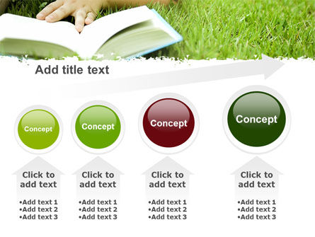Reading On Summer Vacations PowerPoint Template Slide 13