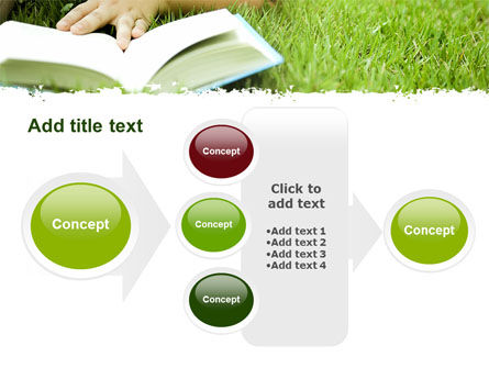 Reading On Summer Vacations PowerPoint Template Slide 17
