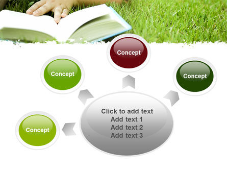 Reading On Summer Vacations PowerPoint Template Slide 7