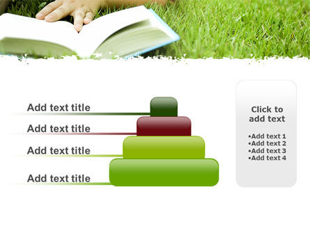 Reading On Summer Vacations PowerPoint Template Slide 8