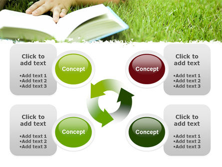 Reading On Summer Vacations PowerPoint Template Slide 9