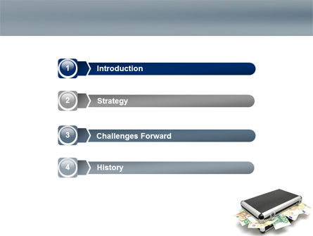 Euro Depository PowerPoint Template Slide 3