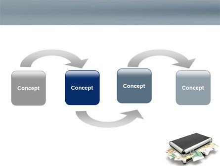 Euro Depository PowerPoint Template Slide 4